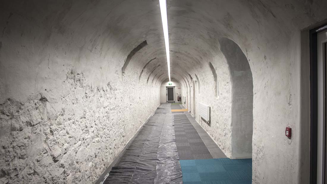 DR Steevens Hospital Corridor